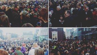 Протесты в Рейкьявике