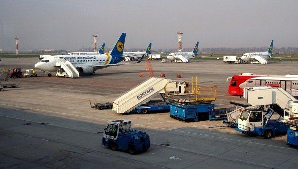 Украинский аэропорт. Архивное фото