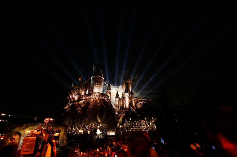 В Голливуде появился парк Волшебный мир Гарри Поттера