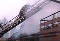 Масштабный пожар на базе отдыха под Одессой: кадры с места событий. Видео