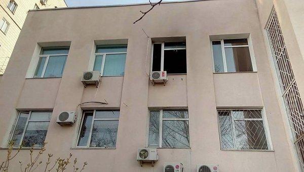 Пожар в Голосеевском райсуде Киева