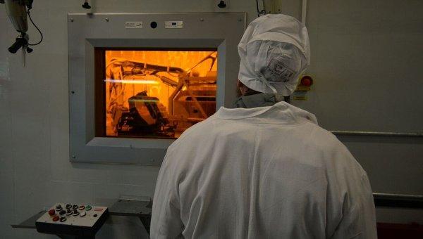 Цех по утилизации радиоактивных отходов на ЧАЭС