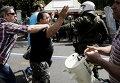 Столкновения с полицией в Афинах во время акции протеста против продажи крупнейшего порта Греции