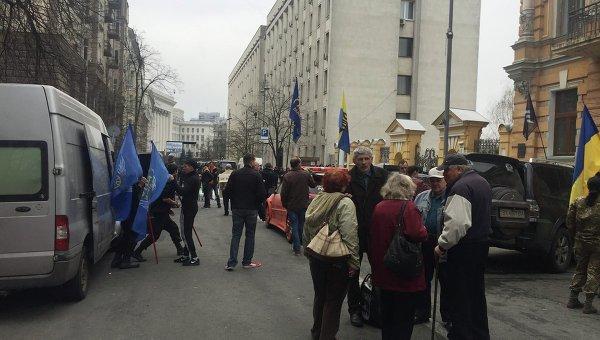 Активисты на Банковой договорились с Администрацией президента