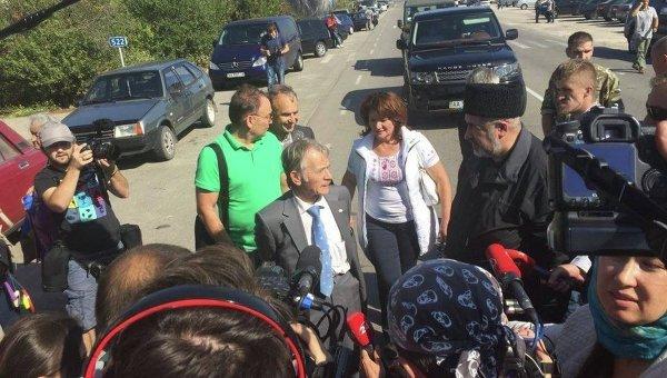 Народный депутат Мустафа Джемилев. Архивное фото