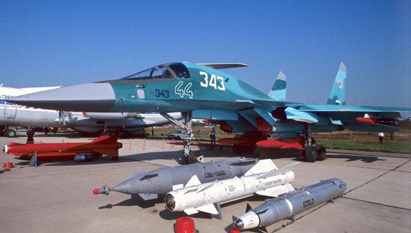 Истребитель-бомбардировщик СУ-32