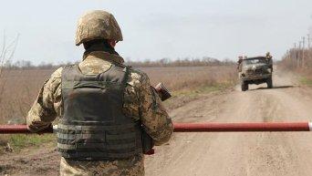 Позиции ВСУ возле Донецкого аэропорта