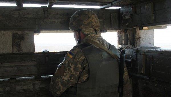 Позиции ВСУ возле Донецкого аэропорта. Архивное фото