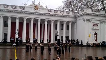 Хит Лабутены в исполнении оркестра Нацгвардии Украины. Видео