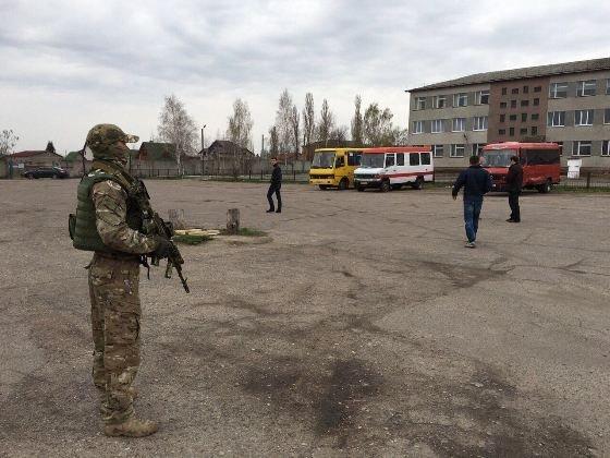 Спецоперация в Ровенской области