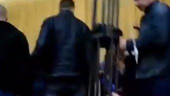 Массовая драка в Коцюбинском городском совете
