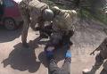Задержание торговцев оружием из зоны АТО: оперативные кадры. Видео