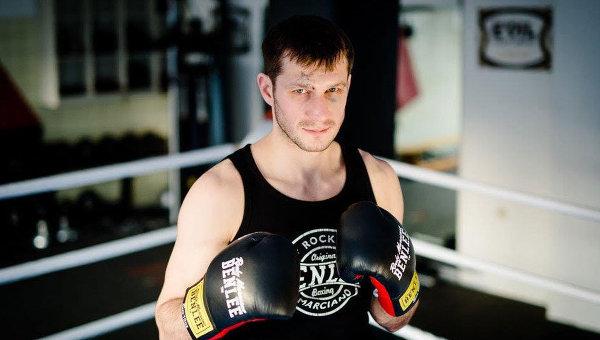Российский боксер Игорь Михалкин. Архивное
