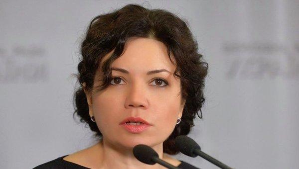 Народный депутат Виктория Сюмар