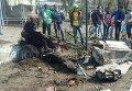 В центре Новоалексеевки (Херсонская область), которая находится вблизи административной границы с Крымом, взорвался автомобиль.