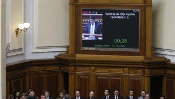 Кабинет министров Владимира Гройсмана в Раде