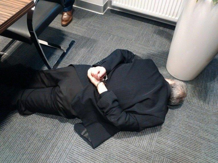 Задержанный за взятку в 1 миллион евро мэр Вышгорода Анатолий Момот.