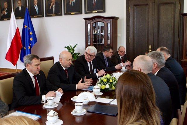 Официальный визит в Польшу Секретаря СНБО Украины Александра Турчинова