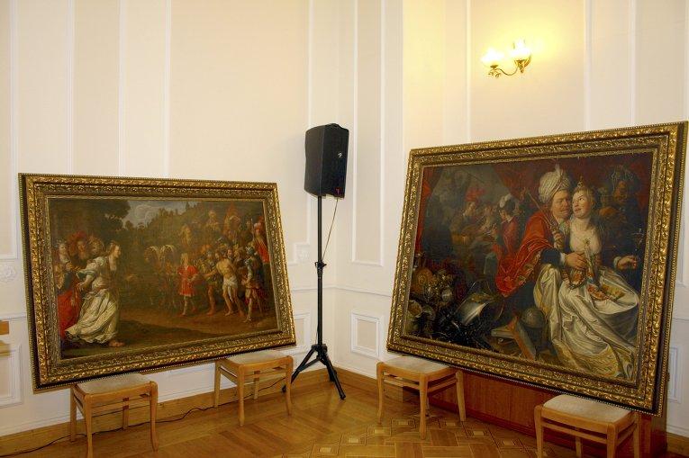Украинские правоохранители обнаружили несколько картин, похищенных из нидерландского музея более 10 лет назад