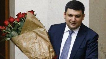 Букет роз для Владимира Гройсмана