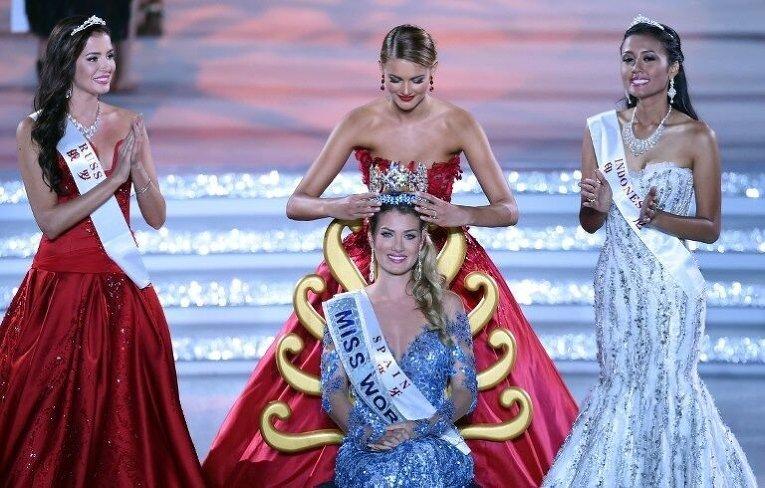 Очаровательные девушки, удостоившиеся короны Мис Мира, за последние полвека