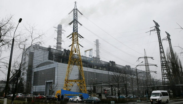 Трипольская ТЭС в Киевской области