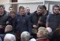 Суд над мэром Вышгорода начался со скандала в зале и митинга. Видео