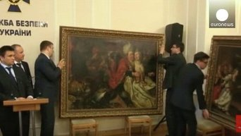 Украина вернула Нидерландам похищенные из музея картины