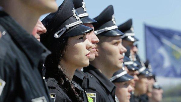 Патрульные полицейские Запорожья приняли присягу на верность украинскому народу