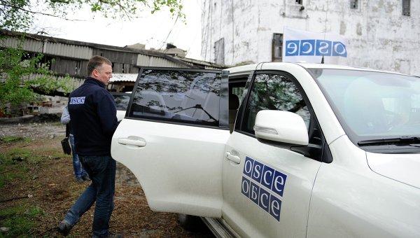 Миссия ОБСЕ запустила первую камеру видеонаблюдения на территории ДНР