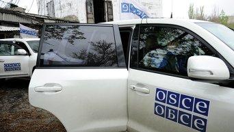 Миссия ОБСЕ в Донбассе