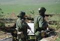 Военнослужащие ЛНР на наблюдательном посту