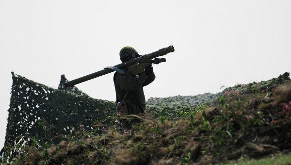 Военные учения в ЛНР