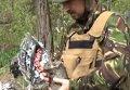 Разминирование кладбищ в зоне АТО перед Пасхой. Видео