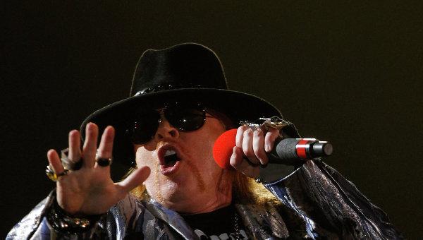 Лидер группы Guns n' Roses Аксель Роуз