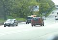 Mercedes-кортеж Тимошенко несется по Киеву со скоростью 120 км/ч. Видео