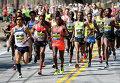 Бостонский марафон, штат Массачусетс, США.