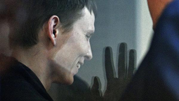 Оглашение приговора по делу россиян Е. Ерофеева и А. Александрова в Киеве
