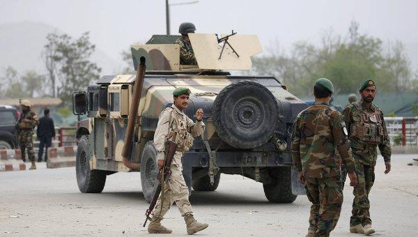 Спецслужбы Афганистана. Архивное фото