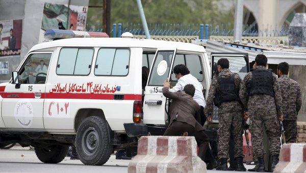На месте взрыва в центре столицы Афганистана Кабуле. Архивное фото
