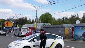 ДТП в Киеве с участием полицейских. Видео