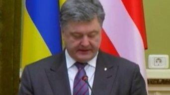 Петр Порошенко: Киев и Москва согласовали алгоритм обмена