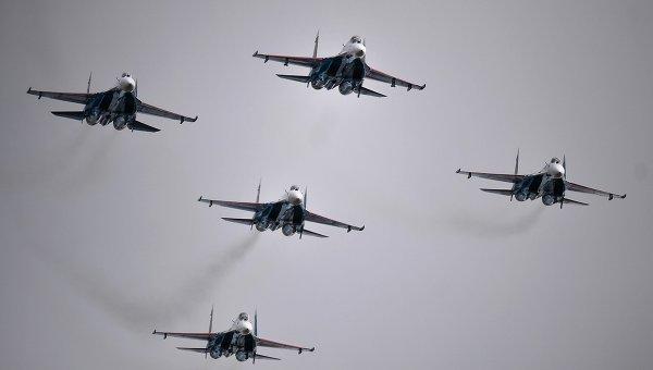 Пентагон увидел провокацию вманёвре русского Су-27 над Балтикой