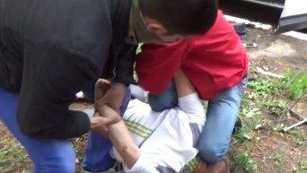 В Краматорске на крупной взятке погорел майор полиции. Видео