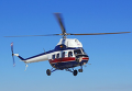 Модернизированный ПАО Мотор Сич вертолет Ми-2. Архивное фото