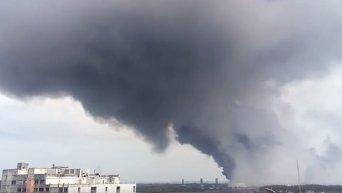 Взрыв на нефтяном заводе в Мексике. Видео