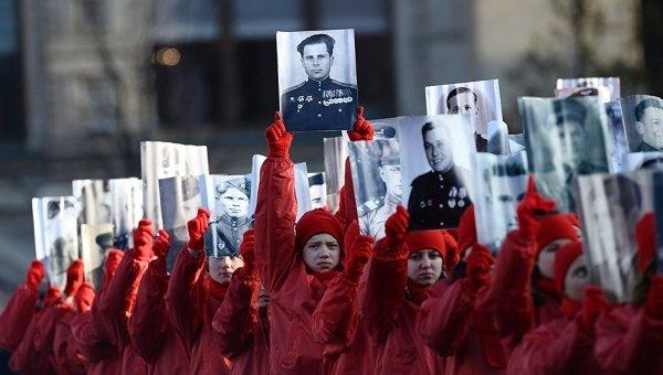 Торжественный марш, посвященный легендарному параду 1941 года