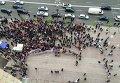 Протест МАФовиков под стенами КГГА