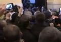 Появилось видео штурма КГГА с требованием разрешить продажу алкоголя. Видео