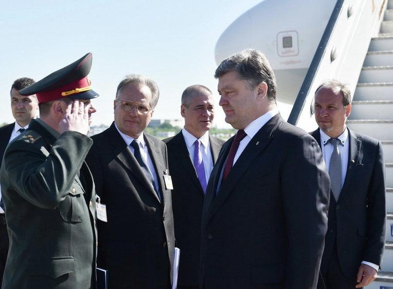 Официальный визит Президента Украины Петра Порошенко в Румынию